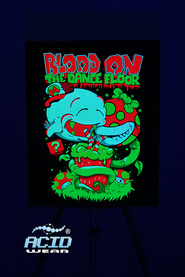 Флуоресцентная картина ACIDWEAR «BLOOD ON»