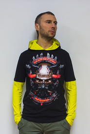 Лонгслив мужской ACIDWEAR «HARDTECHNO INFERNAL»