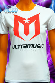Футболка ACIDWEAR «ULTRAMUSIC 2012»