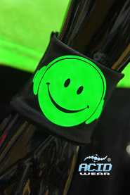 Напульсник ACIDWEAR «SMILE DJ»