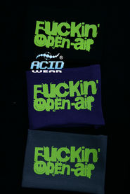 Напульсник ACIDWEAR «F*CKING OPEN AIR»