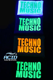 Напульсник ACIDWEAR «TECHNO MUSIC»