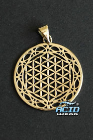 Кулон подвеска SACRED GEOMETRY «FLOWER OF LIFE P5»