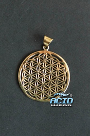 Кулон подвеска SACRED GEOMETRY «FLOWER OF LIFE P7»