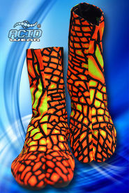 Ninja Shoes SPACE TRIBE «NN01 D108C Fire Dragonfly»