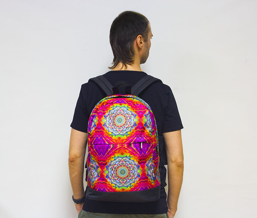 Рюкзак ACIDWEAR «FLOWER MANDALA»