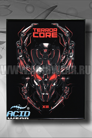 Флуоресцентная картина ACIDWEAR «TERROR CORE»