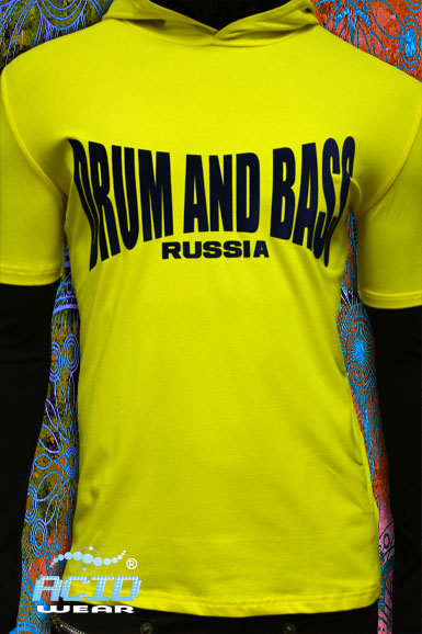 Лонгслив мужской ACIDWEAR «DRUM AND BASS»
